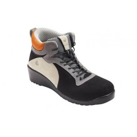 CORALIE Chaussures de sécurite femme cuir S3 haute NORDWAYS DESTOCKEES