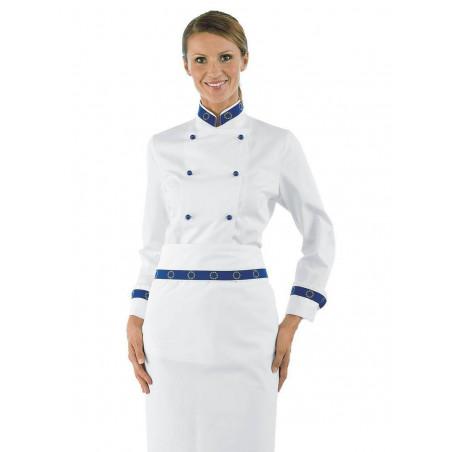 Veste de cuisine femme coton LADY EURO