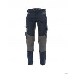 Pantalon Travail Stretch Et Pg Dynax Poches Genoux Pour Femme