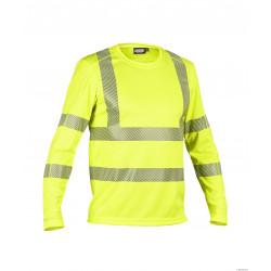 T-shirt Haute Visibilité Uv Manches Longues Class 3