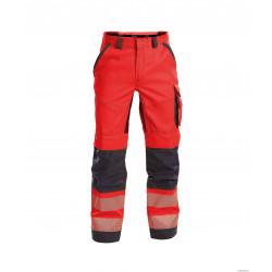 Pantalon été Haute Visibilite Avec Poches Genoux