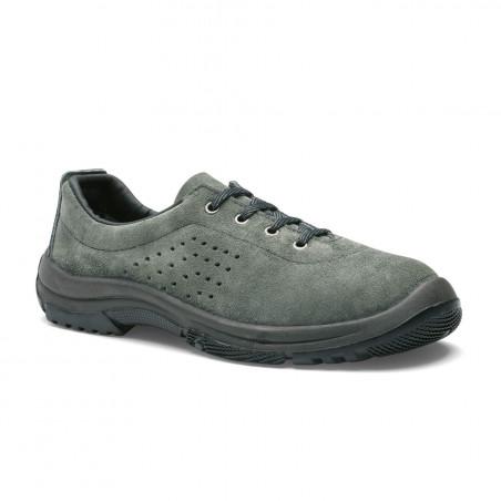GIRONDIN chaussure de sécurité homme basse S1P SRC cuir croûte S24