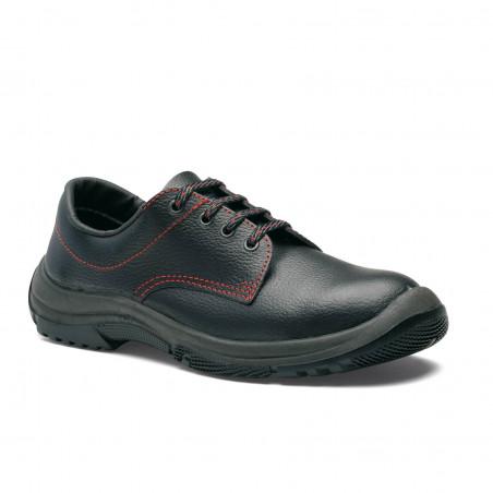 VELOCE Chaussures de sécurité mixte en cuir noir S3