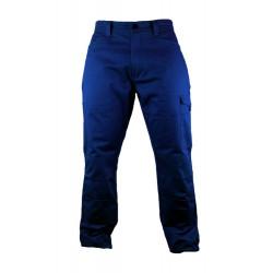 Evo Pantalon De Travail 100%  Coton Avec Poches Genoux