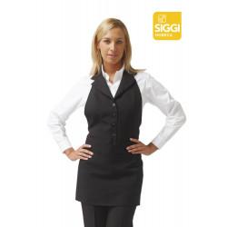 Nadia Tablier De Service A Bavette Polyester