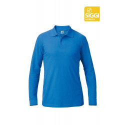 Summer Polo Homme Manches Longues 100% Coton