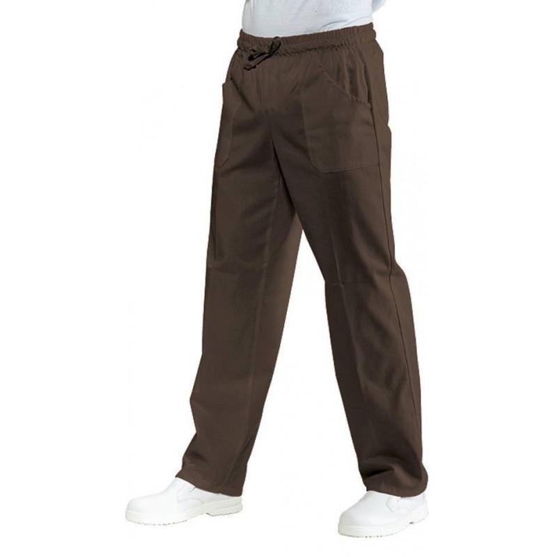 Pantalon élastique mixte polycoton
