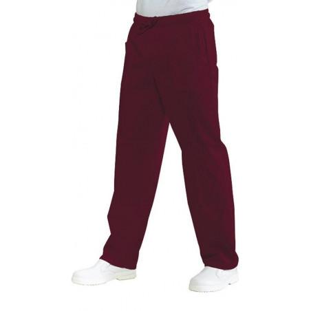 Pantalon médical mixte polycoton taille elastique MERYL