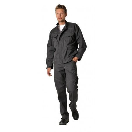 Pantalon de travail polycoton résistant et souple couleurs BLACKBUILDER
