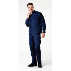 BLACKBUILDER Pantalon de travail polycoton résistant et souple couleurs HASSON