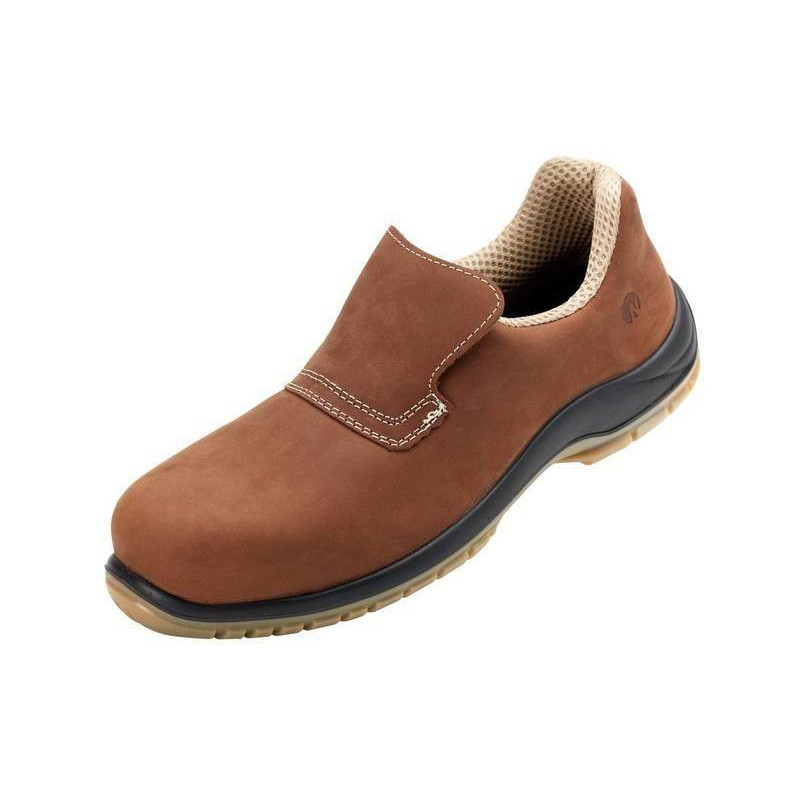 DAN MARRON chaussure de sécurité cuir pleine fleur hydrofuge S2 basse NORDWAYS