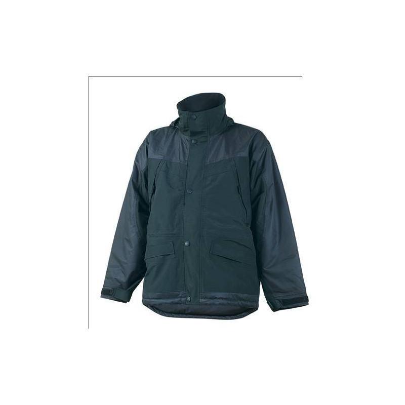 BERING  parka de travail chaude polyester imperméable 3 en 1 avec veste polaire amovible