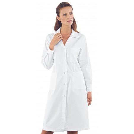 Blouse médicale blanche pour femme DONNA