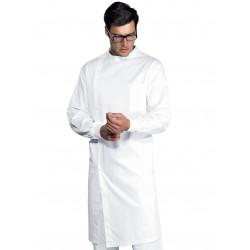 Blouse dentiste poignet tricot