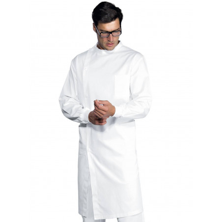 DENTISTE Blouse mixte à poignets tricots