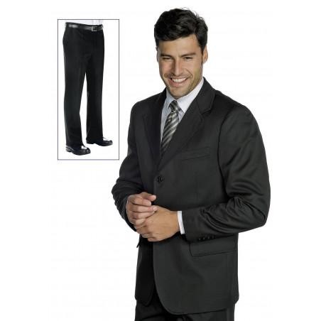FODERATA Veste de costume de service pour homme 100% laine