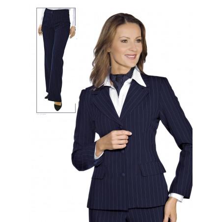 Tailleur pantalon de service pour femme