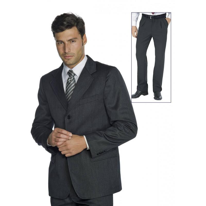 costume de travail homme avec pantalon pinces zachary bga v tements. Black Bedroom Furniture Sets. Home Design Ideas