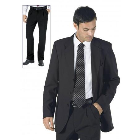 Costume de travail homme avec pantalon à pinces ZACHARY