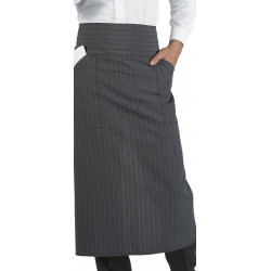 VERSAILLES Tablier de service restauration,café polyester 2 poches basses