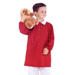 Blouse POLLICINO garçon 3-6 ans rouge