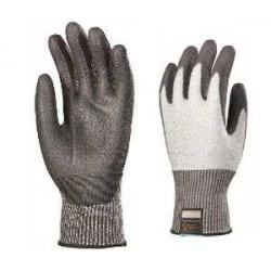 Lots de 10 paires de gants TAEKI 5 enduit PU, 3 doigts enduit ESD, touch pad