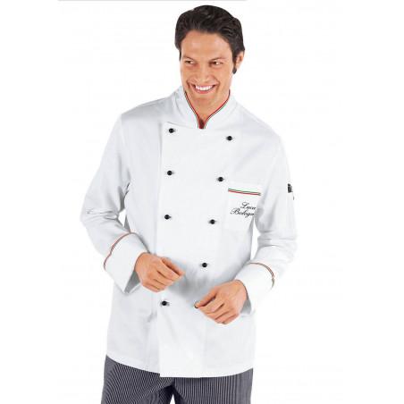 Veste de cuisine homme coton PRESTIGE