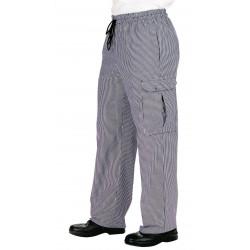 pantalon de cuisine grandes tailles