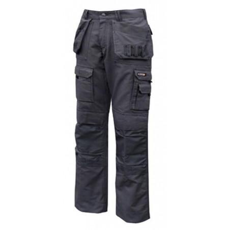 Pantalon de travail multipoches en canvas pour homme TEXAS