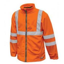 KALUGA Veste de travail polaire chaude polyester haute visibilité
