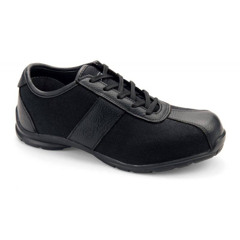 COOL chaussure de sécurité Cuir fleur/toile S1P basse S 24