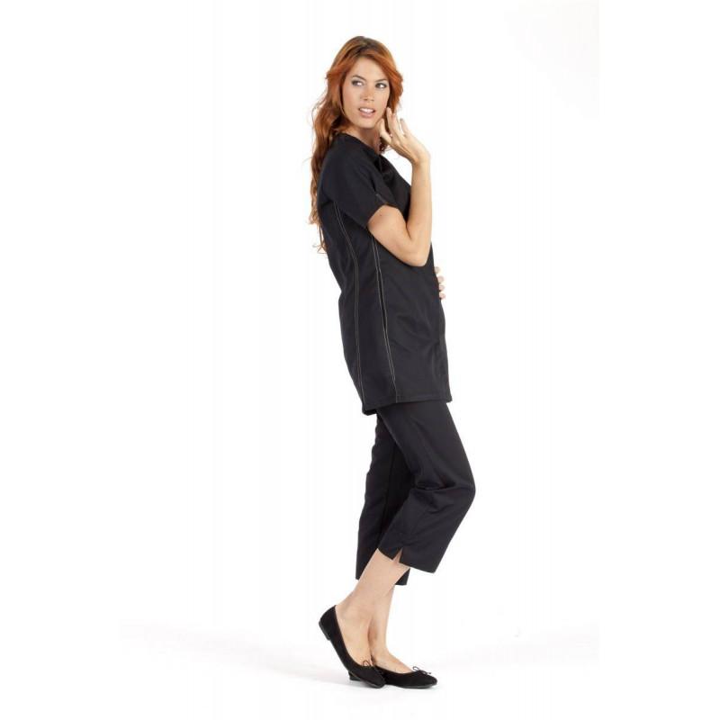 CANDICE Tunique esthétique femme manches courtes