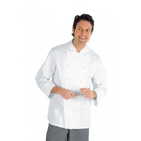 Veste de cuisine blanche homme grande taille LIVORNO