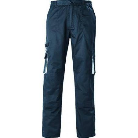 NAVY Pantalon de travail homme dos élastique