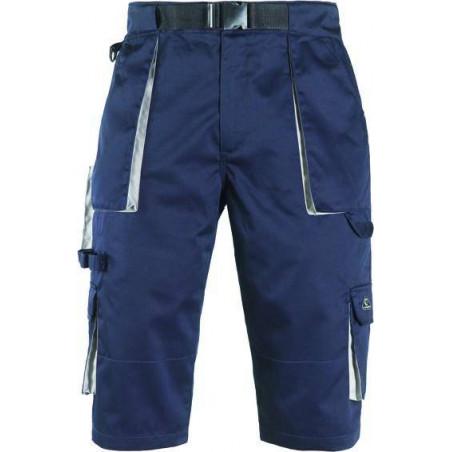 NAVY Short de travail avec ceinture