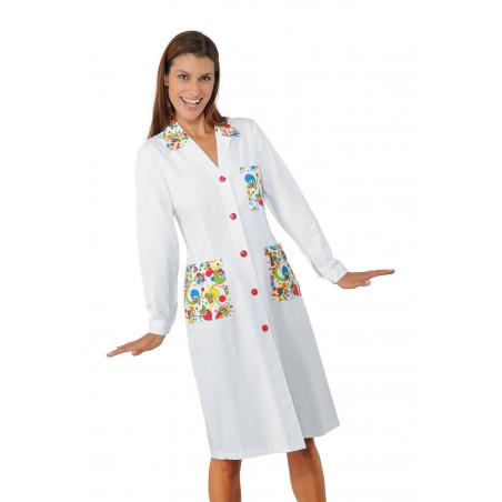 Blouse médicale femme spéciale pédiatrie SMILE