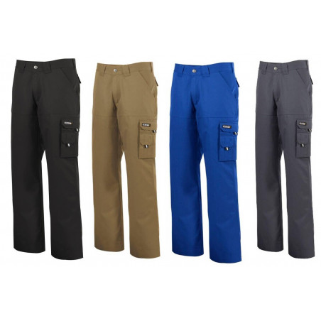Pantalon de travail polycoton LIVERPOOL