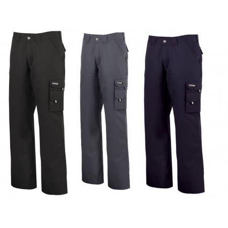 Pantalon de travail en coton pour homme LIVERPOOL