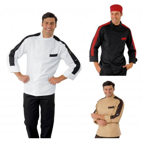 Veste de cuisinier à manches longues MANHATTAN