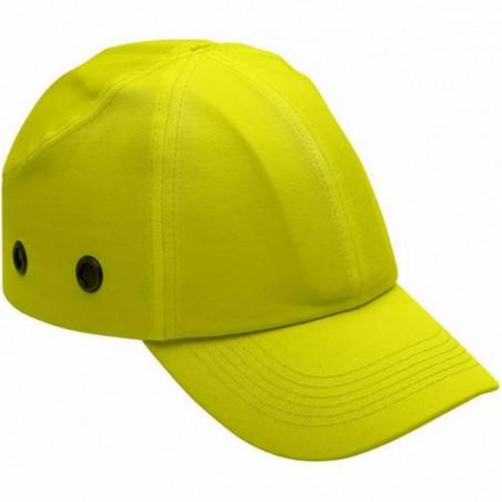 Lot de 10 casquettes ANTI HEURT haute visibilité