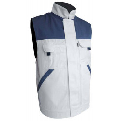 TYPHON  gilet de travail cotonpolyester multipoches