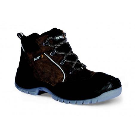 ARGUS Chaussures de sécurité hautes marrons DASSY
