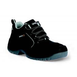 ZEUS Chaussures de sécurité basses en cuir noir DASSY
