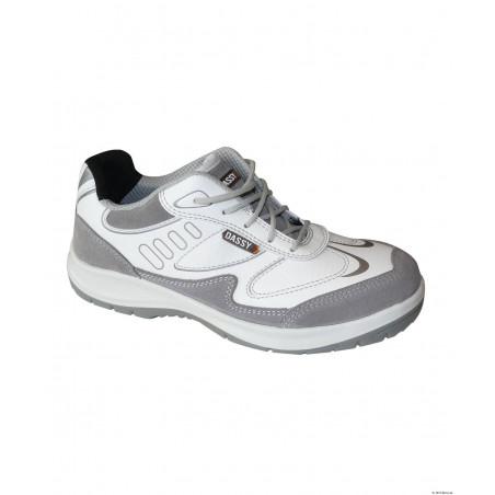 NEPTUNUS Basket de sécurité mixte blanche et grise DASSY