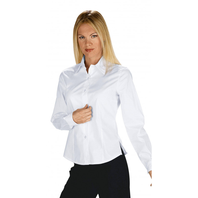 TENERIF Chemisier femme stretch manches longues ISACCO
