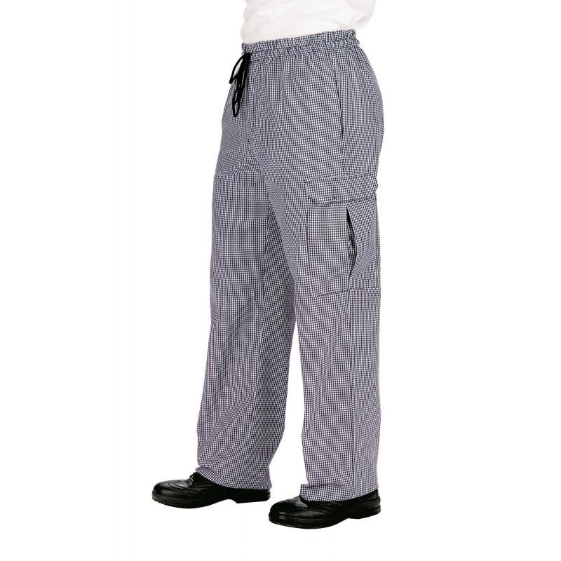 PANTACHEF Pantalon de cuisine 100% coton
