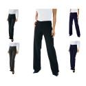 TRENDY Pantalon de service femme 100% polyester