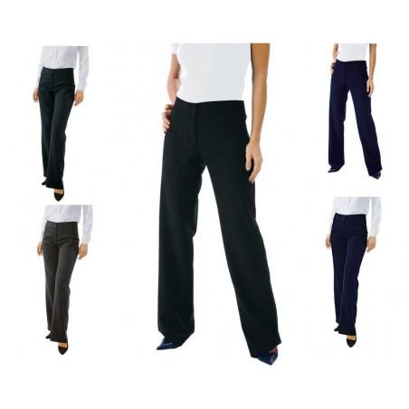 TRENDY Pantalon de service femme en polyester