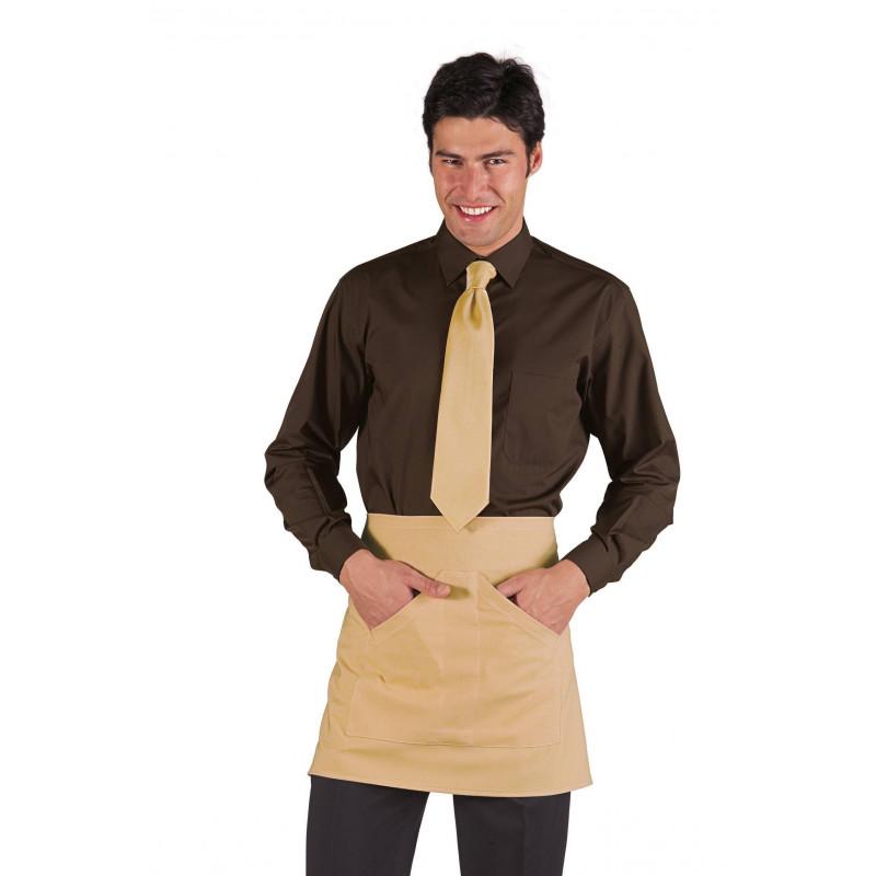 Chemise manche longue mixte polycoton