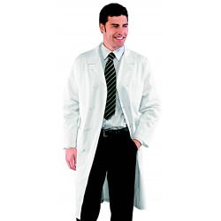DOPPIO Blouse médicale homme double boutonnage en coton